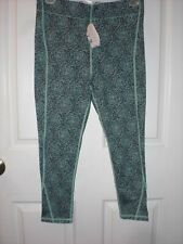 IVORY Ella Flower Cropped Yoga Pants Size S NWTS