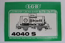 LGB 4040 S Tankwagen