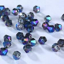 New #5301 jewelry 4mm Swarovski Crystal Bicone bead 1000pcs You pick color