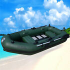 2.6m inflatable boat PVC boat inflatables kayak fishing boat with slats bottom