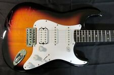 PINK FLOYD ROGER WATERS SIGNED ON THE BODY FENDER SQUIRE GUITAR PSA LOA SHIPFREE