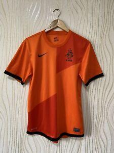 NETHERLANDS 2012 2013 HOME FOOTBALL SHIRT SOCCER JERSEY NIKE