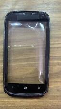 Touch Screen Digitizer Front Screen Lens Glass For Nokia Lumia 610 With Frame