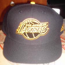 Los Angeles Lakers Adidas Snapback NBA Blackout Hat