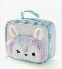 NEW Justice pastel llama lunch tote box