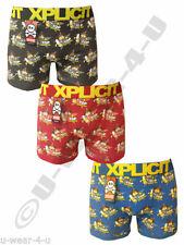 Xplicit Novelty, Cartoon Cotton Underwear for Men