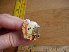 1980s pin tie tac Sapeurs Pompiers Cluses Courage et Devonement vintage HTF mini