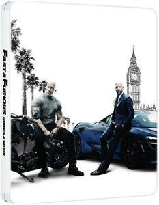 Fast & Furious Presents: Hobbs & Shaw Limited Edition Steelbook 4K UHD & Blu-ray