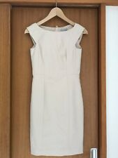 H&M Nude / Blush Fitted Dress With Lining. Size 6 (34)