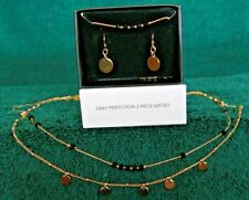 AVON  DAILY PERFECTION 3Pc. NECKLACE, BRACELET & EARRING SET
