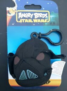ANGRY BIRDS STAR WARS DARTH VADER BACKPACK CLIP PLUSH DOLL COMMONWEALTH