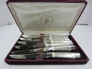 Solingen Germany DUREX Stainless Steel Steak Knife Cutlery Set Forever Deluxe