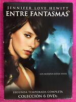 ENTRE FANTASMAS 6 x DVD SEGUNDA 2ª TEMPORADA COMPLETA JENNIFER LOVE HEWITT  AM