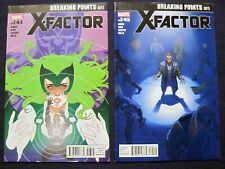 X-FACTOR Lot of 2 # 243 & 245