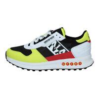 Napapijri Slate Sneaker Uomo NA4ES8 01G Yellow Black