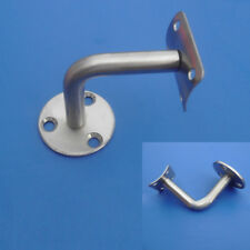 1x Stainless Steel Handrail Stair Wall Brackets Support Hand Rail Bannister 60MM