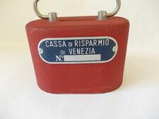 VENEZIA SALVADANAIO  CASSA DI RISPARMO   METAL banca  70s