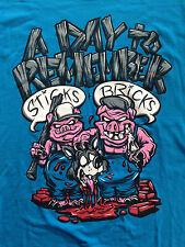 A Day To Remember - Sticks & Bricks T Shirt  ( Official Merchandise)