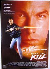 HARD TO KILL Steven Seagal, Kelly LeBrock - Filmplakat DIN A1 (gerollt)