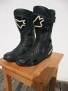 ALPINESTARS Motorradstiefel Gore-Tex Racing-Boots in schwarz Gr. 46
