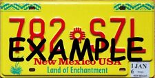 HO 1:87 MONSTER LICENSE PLATES UP 1990+ NEW MEXICO NM-2018 VEHICLE CARS TRUCKS