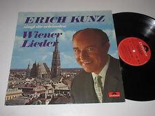 LP/ERICH KUNZ SINGT DIE SCHÖNSTEN WIENER LIEDER/Polydor 66443 Club Sonder *