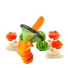 Spiral Fruit Vegetable Peeler Slicer Decor Cutter Volume Flower Kitchen Tools