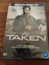 Taken extended harder cut DVD -NEW