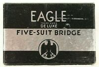 Vintage Playing Cards Eagle Deluxe Five-Suit Bridge INCOMPLETE Poker Deck Game