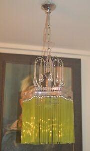 art nouveau chandelier lamp 1920/40. . Complete