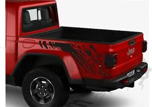 2x Bedside Vinyl Decals Compatible with Jeep Gladiator  - Splash Graphics