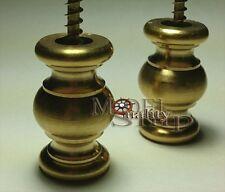 Model Ship Display Pedestals - Solid Brass Turn
