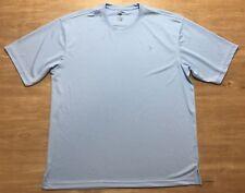 Men's Reel Legends Size XXL Short Sleeve Shirt Casual Light Blue Fishing Top