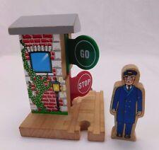 Thomas & Friends Wooden Railway Stop & Go Station Engineer People Figure