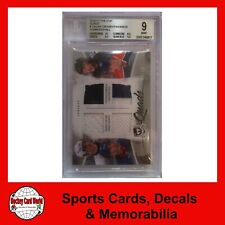 (HCW) 2010-11 The Cup Quads CROSBY TAVARES STAMKOS HALL BGS 9 - 8/10 Jersey w/10