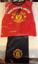 Manchester United FC Pajama Set Officially Licensed Product Sz 4-5 Years