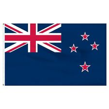 3x5 New Zealand Flag 3'x5' House Banner Brass Grommets Super Polyester