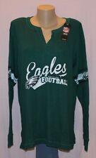 Philadelphia Eagles Womens Thermal Long Sleeve Shirt Plus Size LRG - NFL