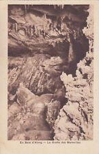 Carte postale ancienne INDOCHINE VIETNAM TONKIN baie along grotte des merveilles