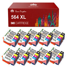 1-10PK 564XL Ink Cartridge Lot for HP 564 Printer Photosmart 5510 5515 5520 5525
