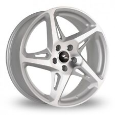 "18"" SM R-4 ALLOY WHEELS FITS RENAULT VOLVO PEUGEOT MERCEDES BENZ 5X108 ONLY"