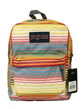 NEW JANSPORT SUPERBREAK MULTI SUNSET STRIPE JST5010E9 ORIGINAL Limit Edition