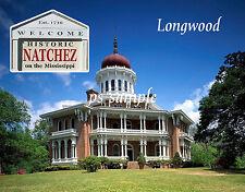 Mississippi - NATCHEZ - LONGWOOD HOME - Travel Souvenir Fridge Magnet