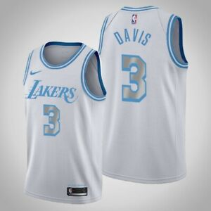Los Angeles Lakers Anthony Davis #3 2020-2021 Swingman Jersey City Edition