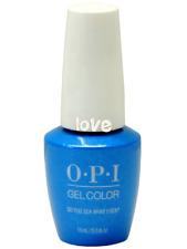 Opi GelColor New Gel Nail Polish Soak-Off F84- Do You Sea What I Sea?