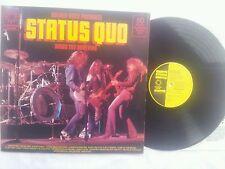 STATUS QUO DOWN THE DUSTPIPE ENGLAND 12 INCH VINYL LP ORIGINAL 1971 MEGA RARE !