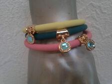 Modeschmuck-Armbänder im Gummiarmband-Stil aus Gummi für Damen