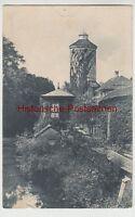 (109028) AK Isny im Allgäu, Zwinghof, Diebsturm, Stadtgraben 1911