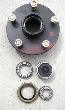 3500# Trailer Axle Wheel Hub W/ Bearings, seals 5 x 5 axel Chevy 5 Lug