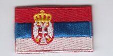 Serbien mini Aufnäher,Aufbügler,Patch Srbija,Serbia,Serbie,Сербия